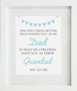 Personalised Dad / Daddy Print Design 5